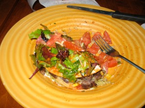 Steak Tostada