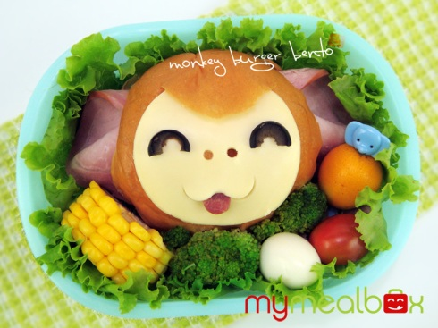 Monkey Bento Burger