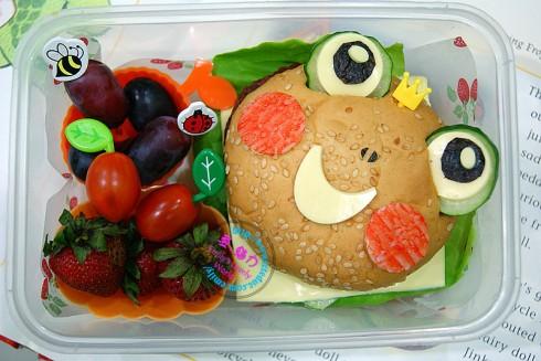 Frog Bento Burger