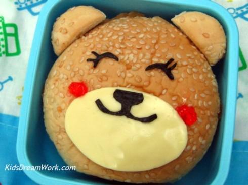 Bear Bento Burger