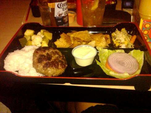 My Burger Bento