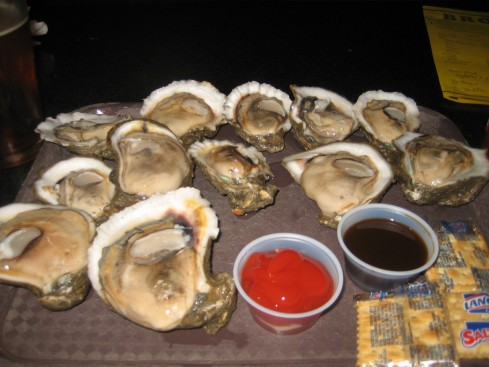 Huge $1 Oysters