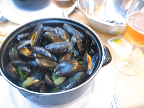 Mussels from Brussels