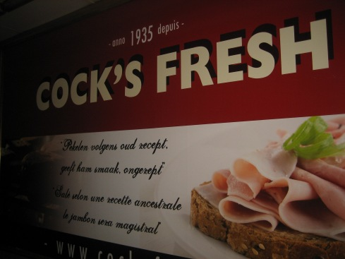 Belgian cock is pretty fresh