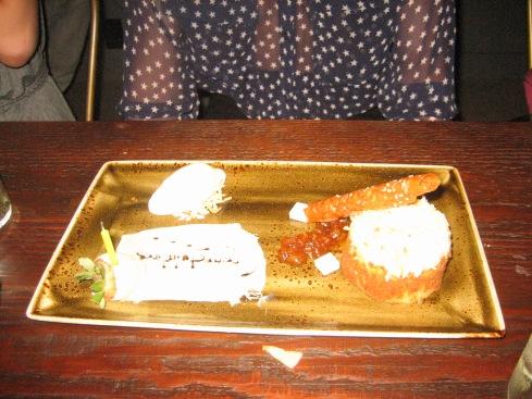 Some delicious dessert