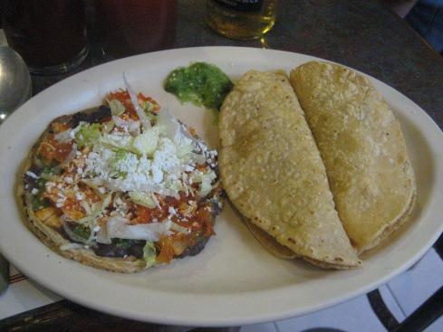Sopes and quesadillas